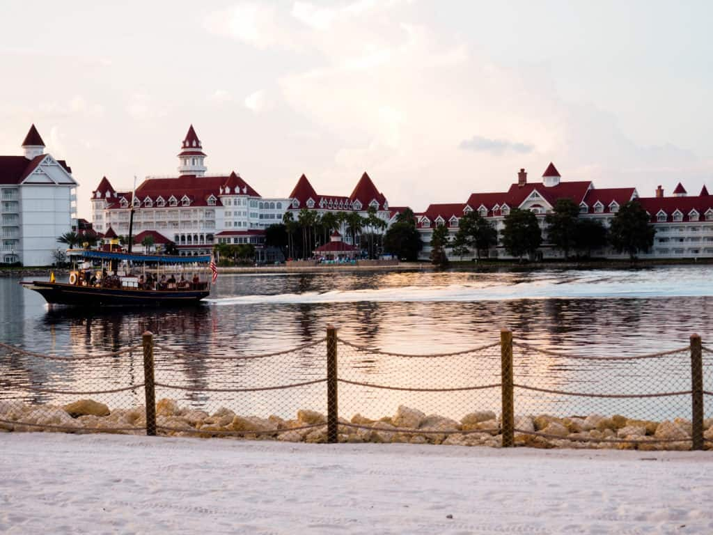 The Grand Floridian Resort at Walt Disney World