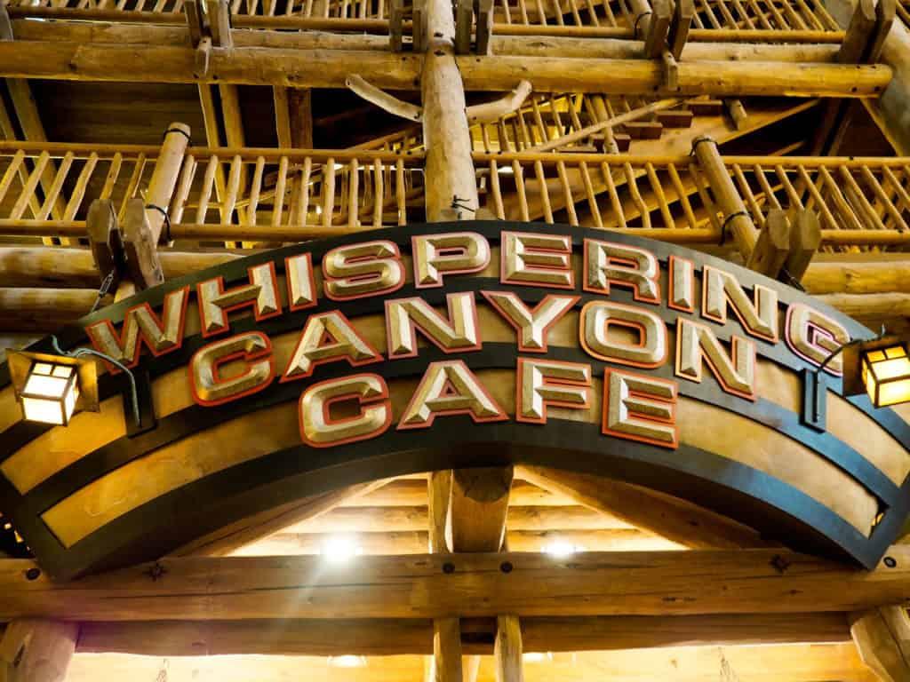 Whispering Canyon Cafe, Fort Wilderness Lodge, Walt Disney World