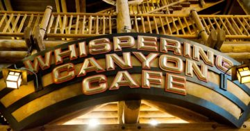 Whispering Canyon Cafe at Wilderness Lodge Disney Restaurant Review