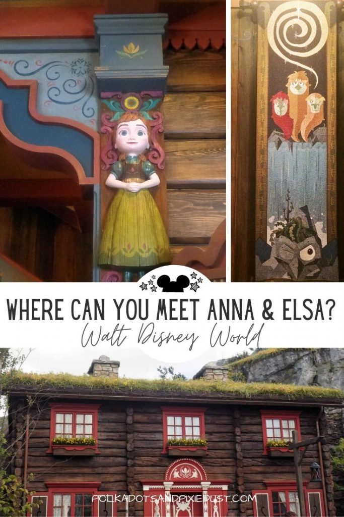 Where can you meet Anna and Elsa together at Walt Disney World? Everything you need to know about Royal Sommerhus #disneyepcot #disneyprincess #disneymeetandgreet #annaandelsa
