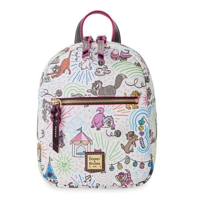 Disney Dooney and Bourke Bags Disney Cats Sketch