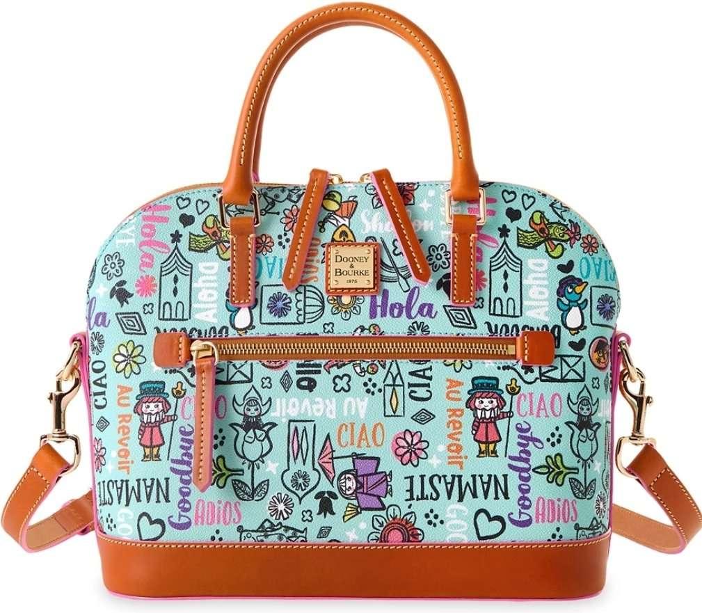 Dooney and Bourke Disney Small World Bag