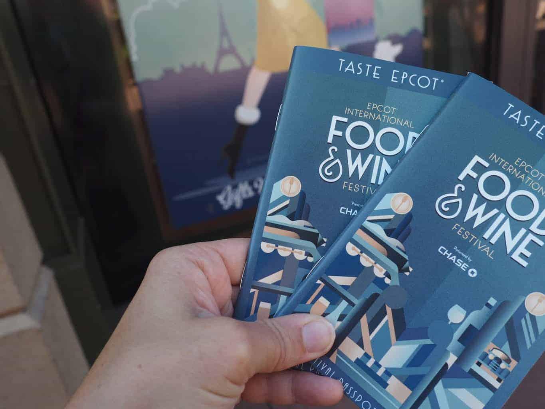 Food and Wine Festival Passport