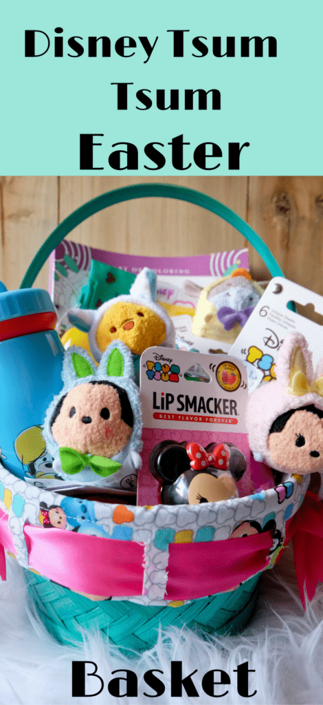 Disney Easter Basket Tsum Tsum DIY