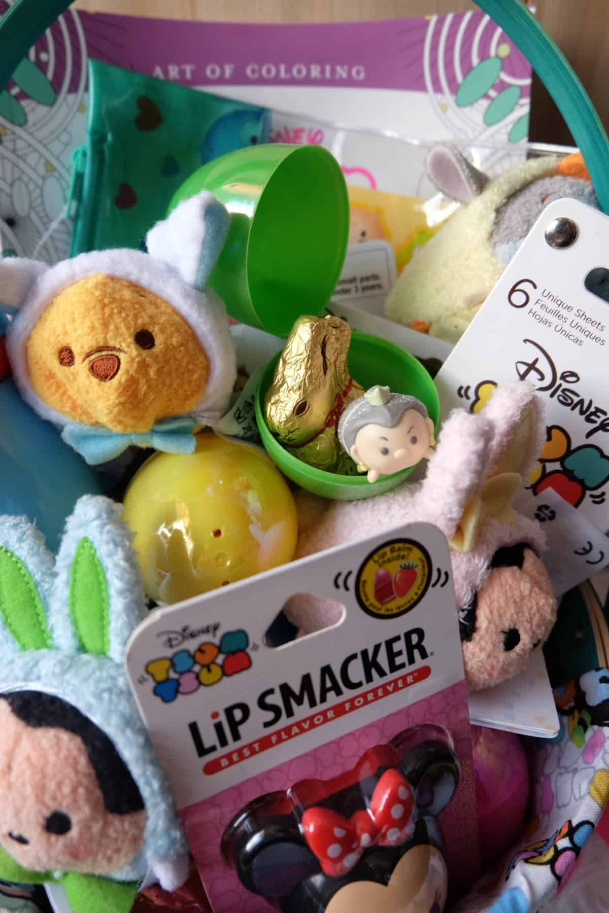 Disney DIY Tsum Tsum Easter Basket