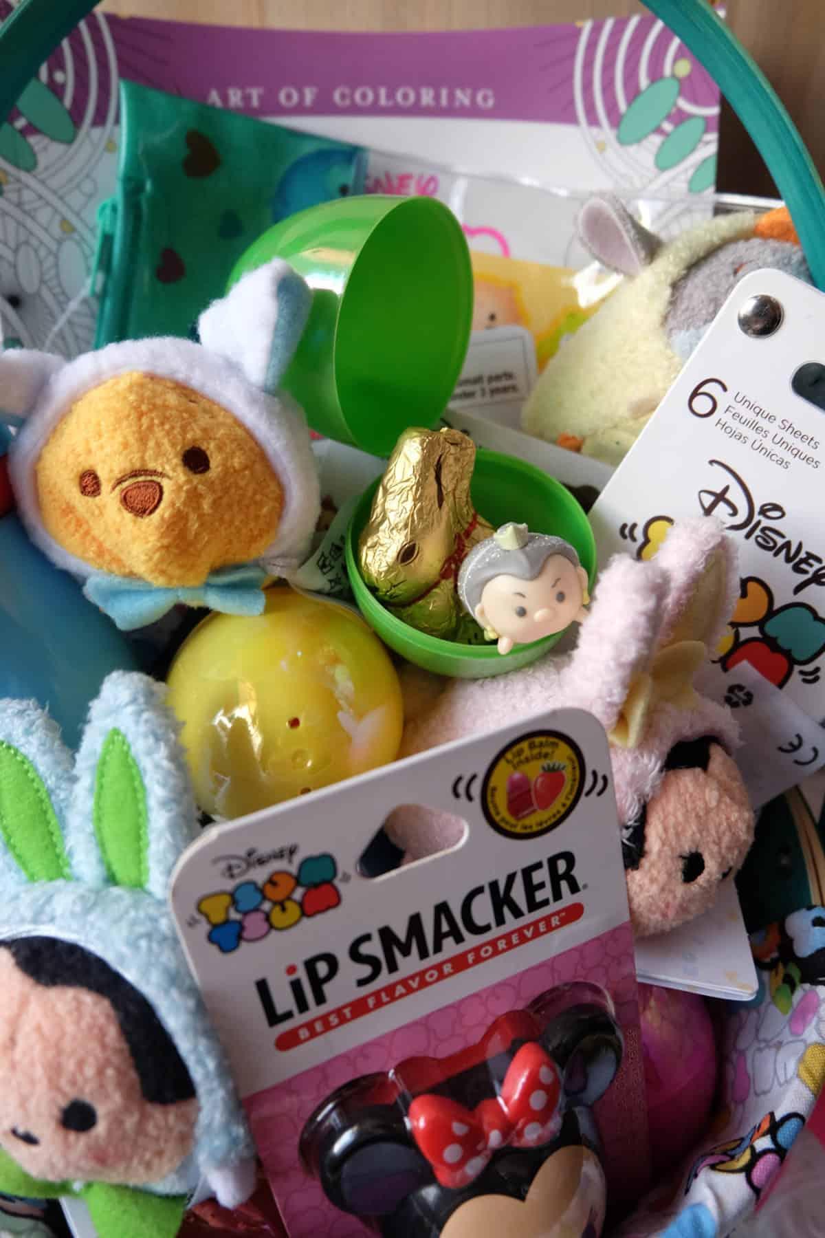 How to Make a Disney Easter Basket Tsum Tsum Edition