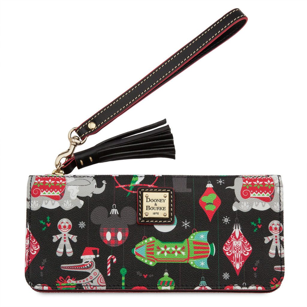 Dooney and Bouke Disney bag 2018 holiday print for Christmas