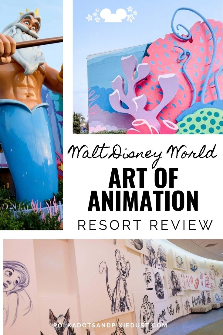 Art of Animation Resort Review Cost, Food, Transportation, and more! #polkadotpixies