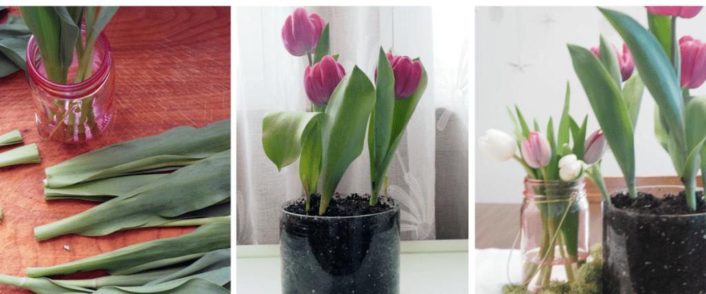 flowers tablescape easter centerpiece