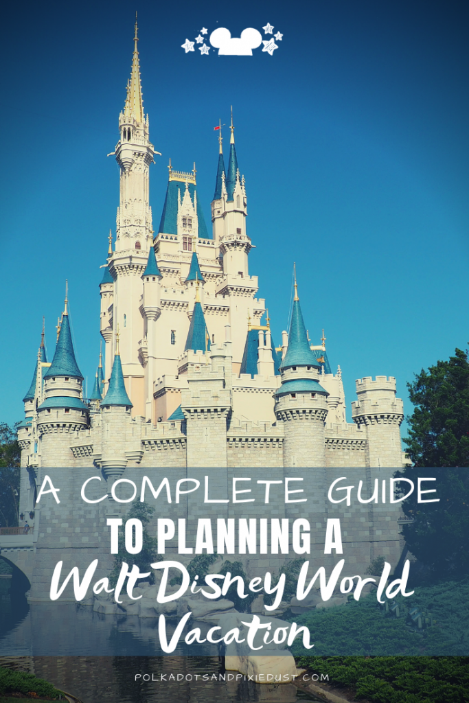 Acomplete guide to planning a Walt Disney World Vacation in 12 easy steps. From creating your accounts to buying tickets and figuring out fast passes, here's everything you need to know to plan a Disney Vacation. #polkadotpixies #disneyvacation #disneytips #vacationplanning