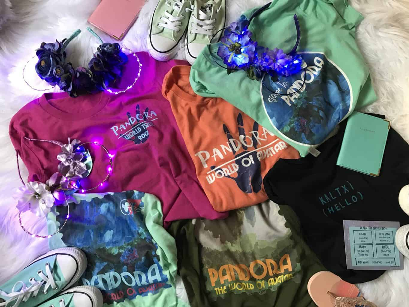 Pandora World of Avatar Merchandise