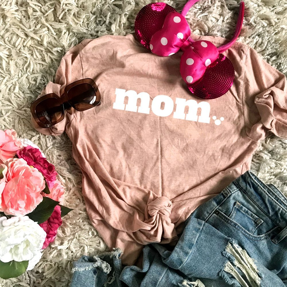 Disney Mom Shirts! PolkaDotPixieShop . Best Mom Ever. Disney Mother's Day Gifts. #disneymom #disneygifts #polkadotpixies