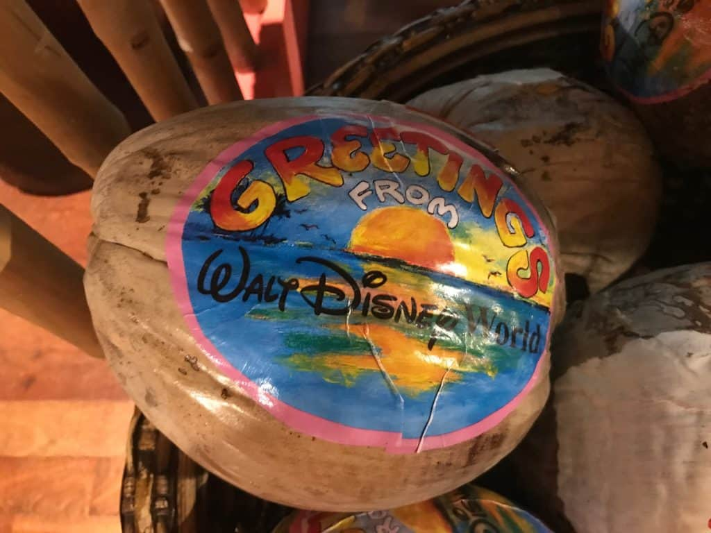 Greetings from Walt Disney World Coconut