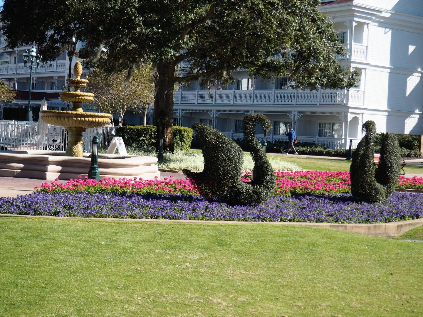 Grand Floridian at Walt disney World Monorail free day