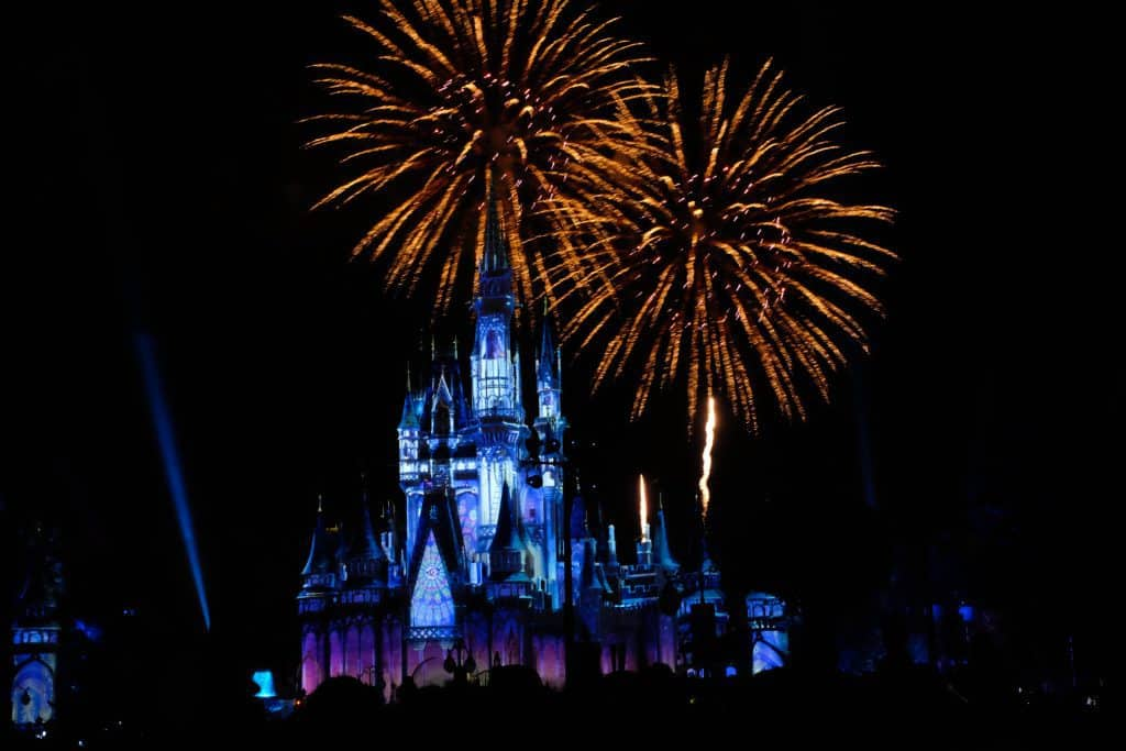 happily ever after disney fireworks