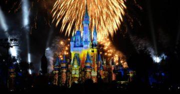 Walt Disney World Happily Ever After Ever Fireworks Show & Dessert Party