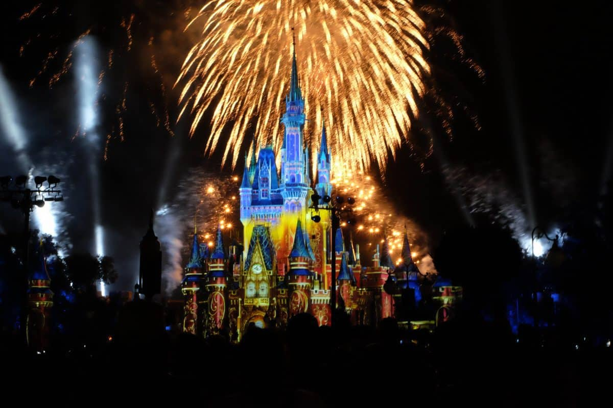 Walt Disney World Happily Ever After Ever Fireworks Dessert Party