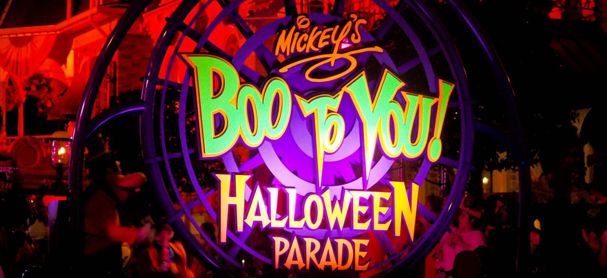 Boo To You Parade Tips for Mickey's Not So Scary Halloween Party