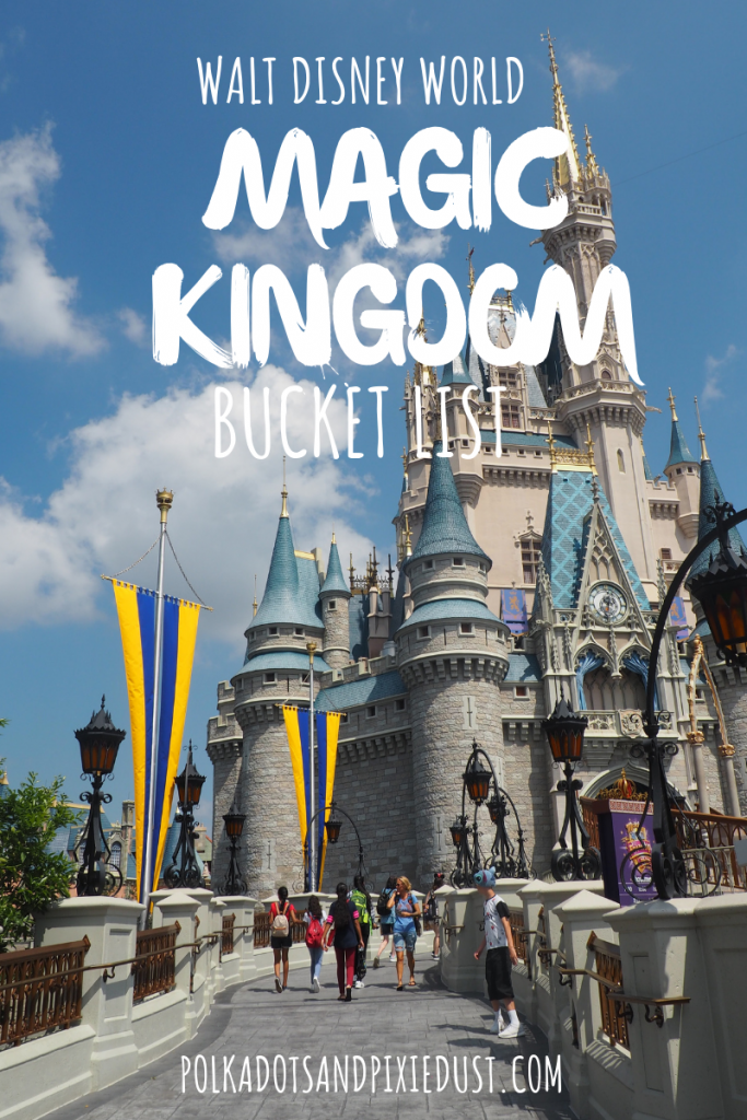 Magic Kingdom Walt Disney World Attractions Restaurants and Rides. Everything to do at Magic Kingdom! All our Favorites #polkadotpixies #disneytips #disneyvacations #magickingdom