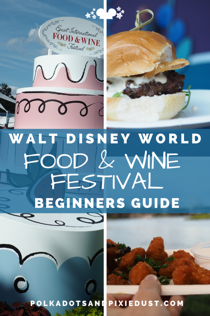 Epcot Food and Wine Festival at Walt Disney World Beginners Guide to Outdoor Kitchens, Shows, and More! #tasteepcot #disneyfestival #foodandwinefestival #waltdisneyworld #polkadotpixies