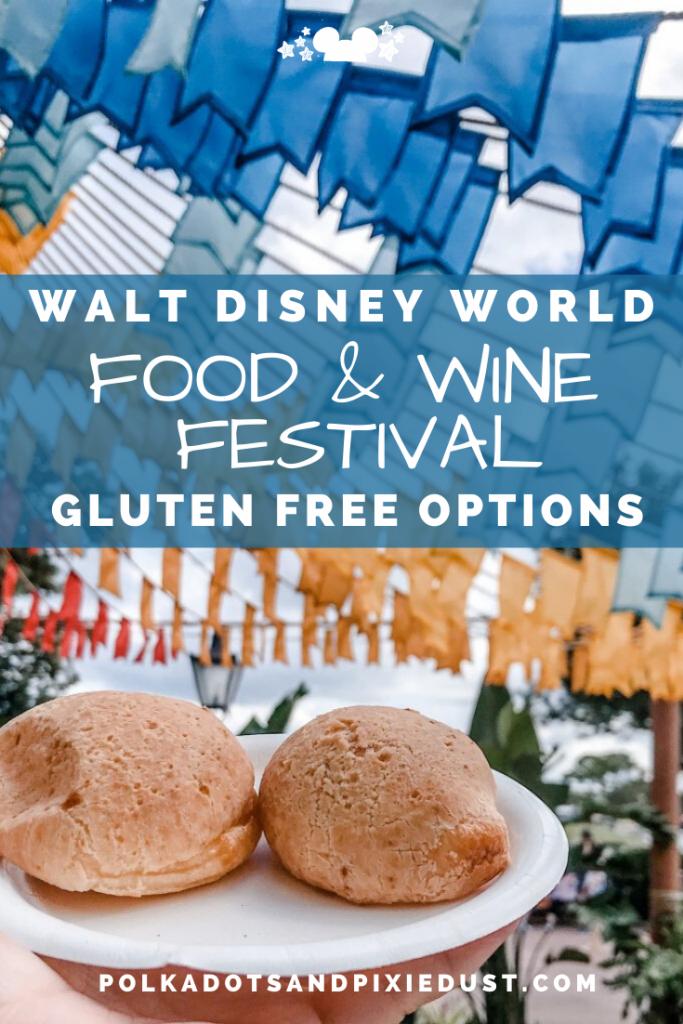 Epcot Food and Wine Festival at Walt Disney World Gluten Free Favorites #tasteepcot #disneyfestival #foodandwinefestival #waltdisneyworld #polkadotpixies