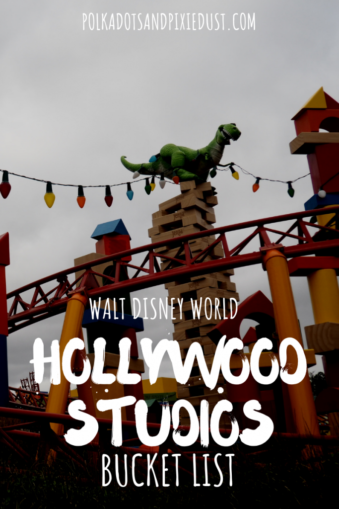 Hollywood Studios at Walt Disney World Restaurants, Rides and Shows. Everything to do when you next visit Hollywood Studios. #polkadotpixies #disneyvacations #hollywoodstudios