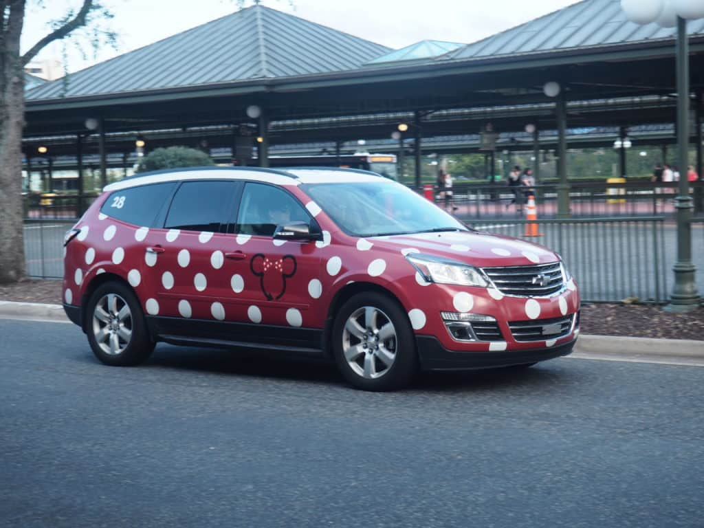 walt disney world transportation minnie van rental lyft