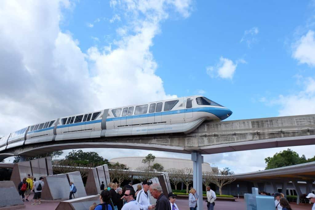 disney monorail, disney transportation, disney transport