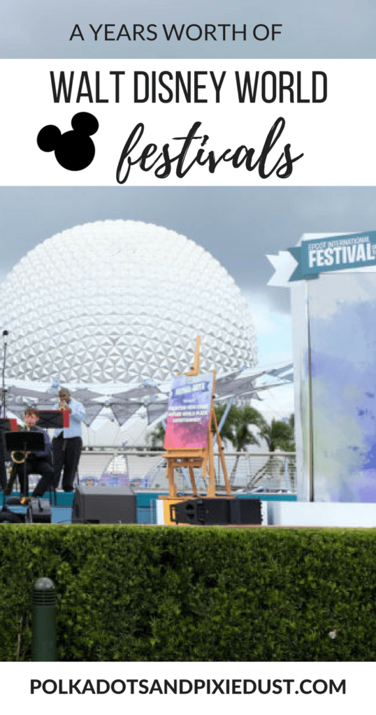 walt disney world festivals