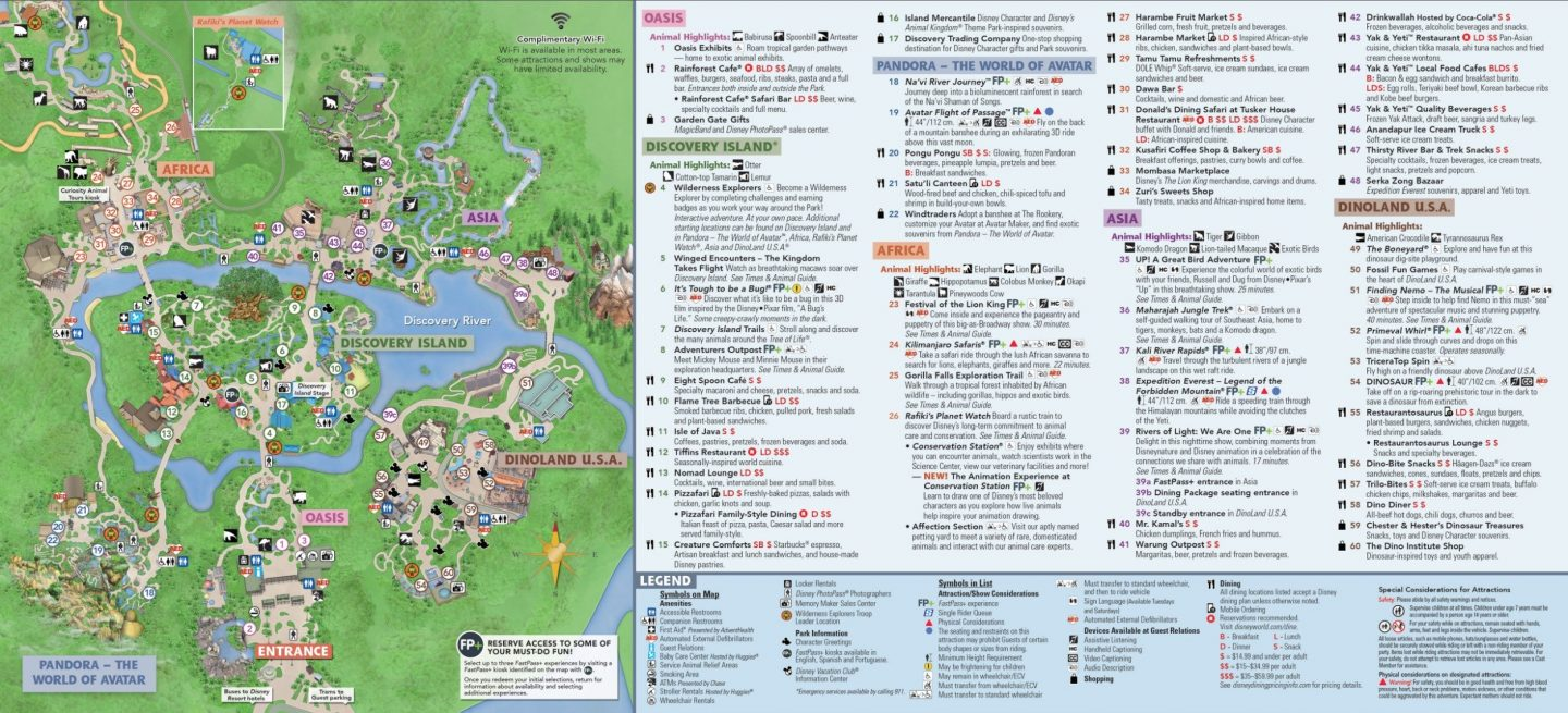 Where is Pandora in Animal Kingdom Disney World