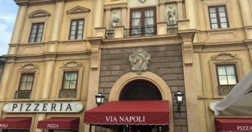 Via Napoli Ristorante e Pizzeria Review Walt Disney World Epcot