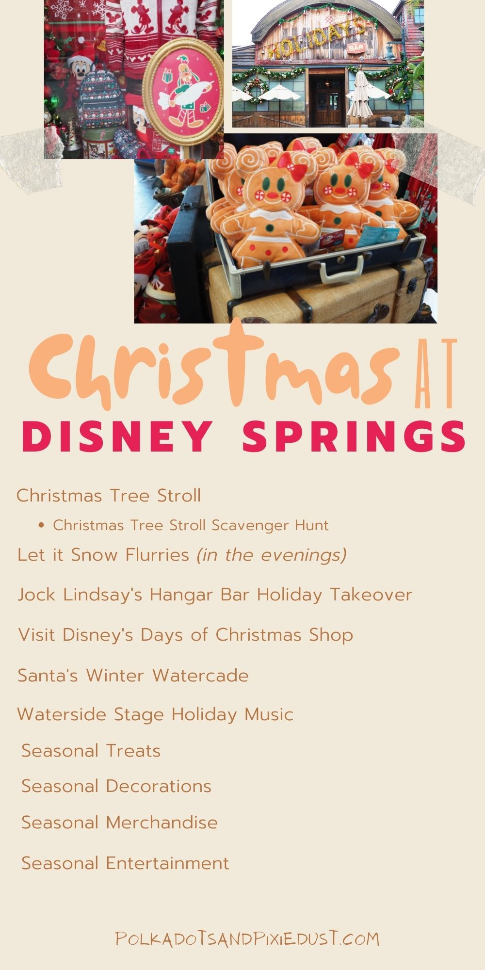Christmas at Disney Springs Walt Disney World