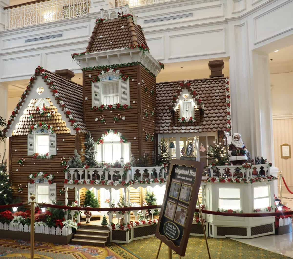 grand floridian gingerbread house walt disney world
