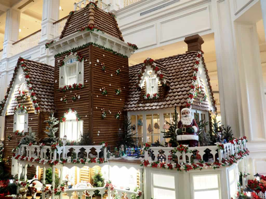 grand floridian christmas gingerbread house