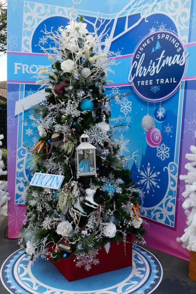 Disney christmas, disney scavenger hunt, disney springs tree trail