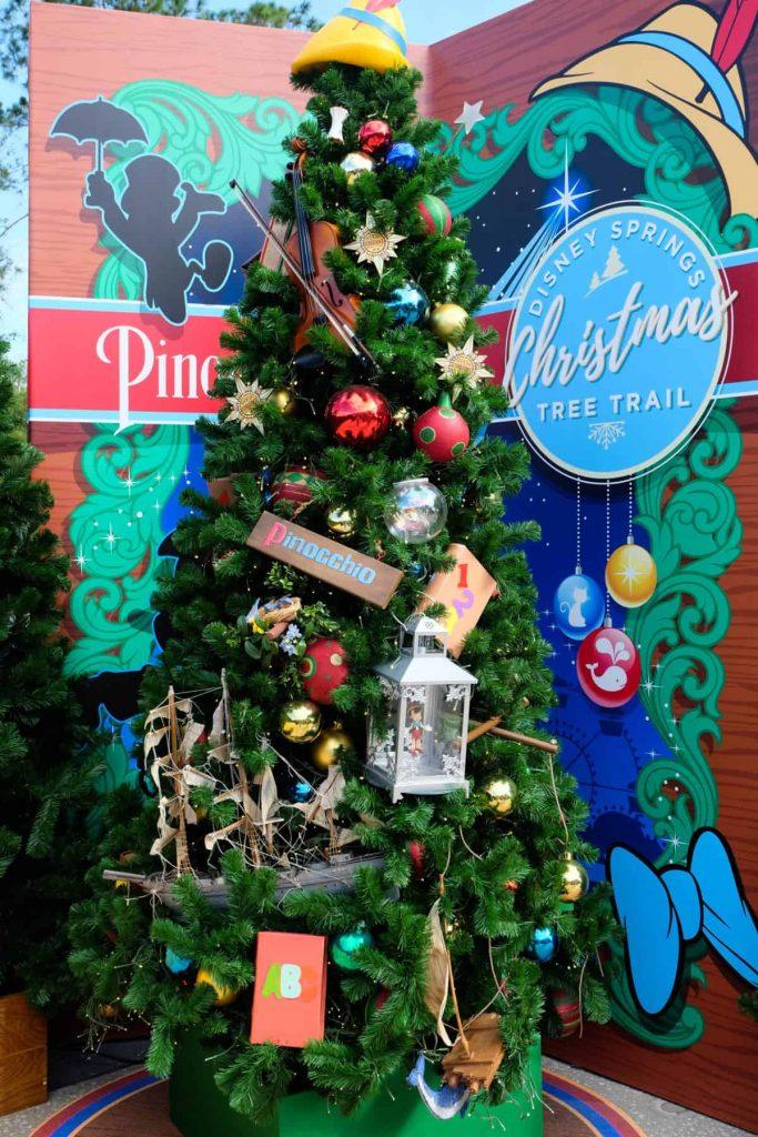 101 dalmations christmas tree at disney springs