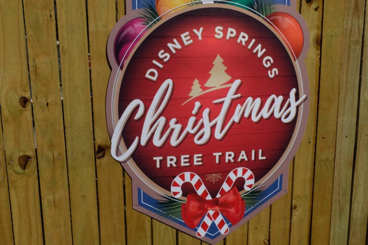The Disney Springs Christmas Tree Trail Photo Tour