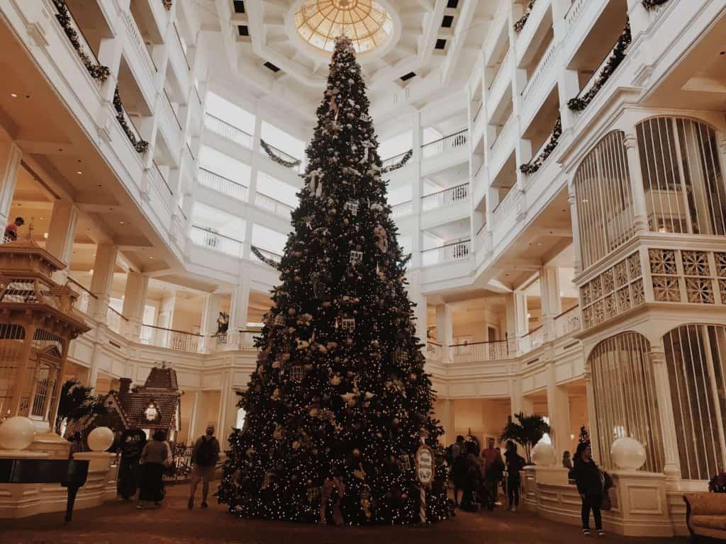 Christmas at Disney resorts