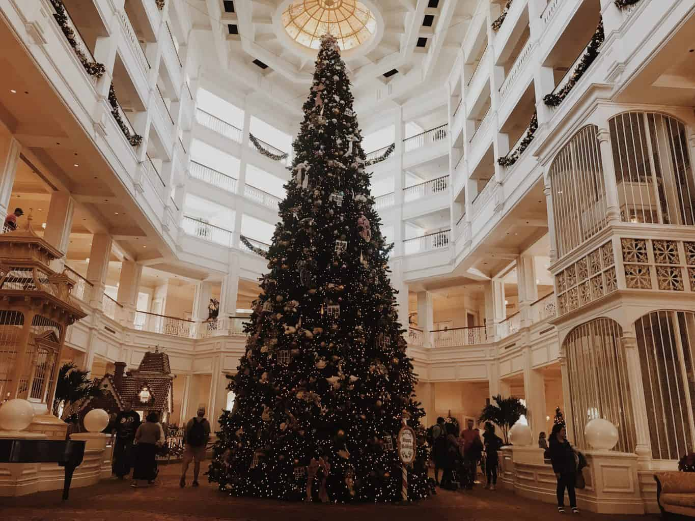 Christmas at Disney resorts
