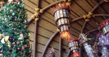 Disney Resort Holiday Decorations Tour at Walt Disney World