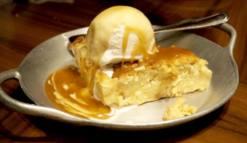 ohana bread pudding dessert