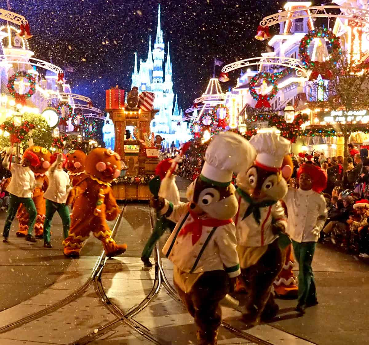 very merry christmas parade wdw