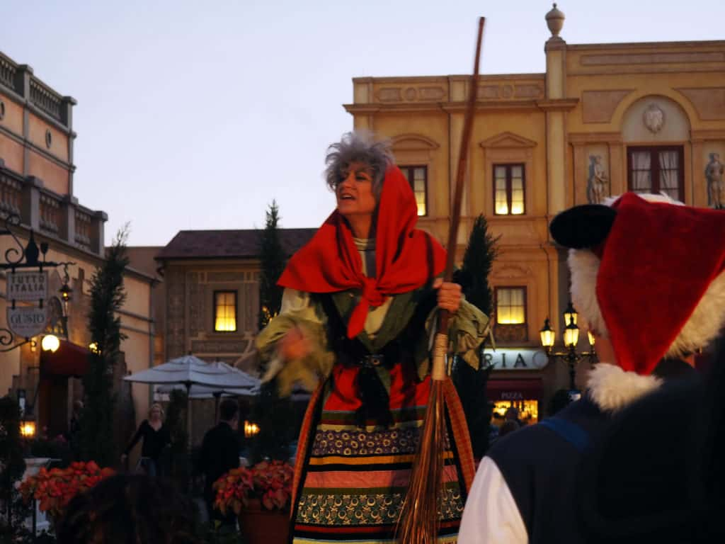 la befana christmas at epcot disney