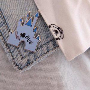 disney castle home pin