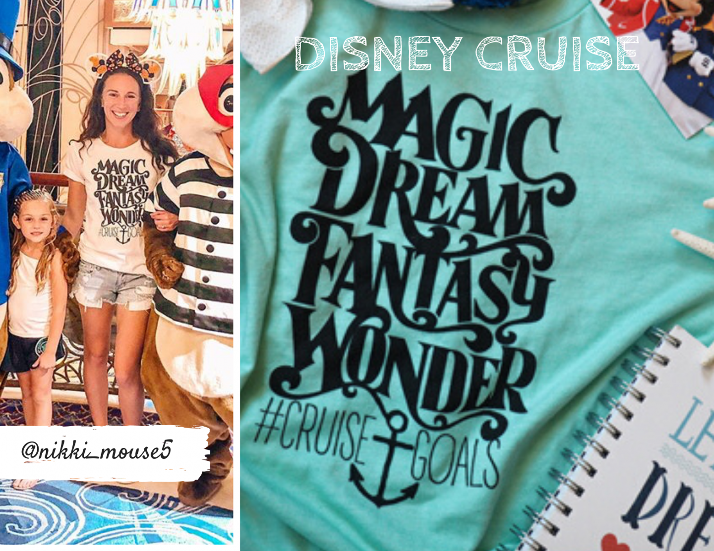 Disney Cruise Shirts for a Disney Cruise #disneycruise