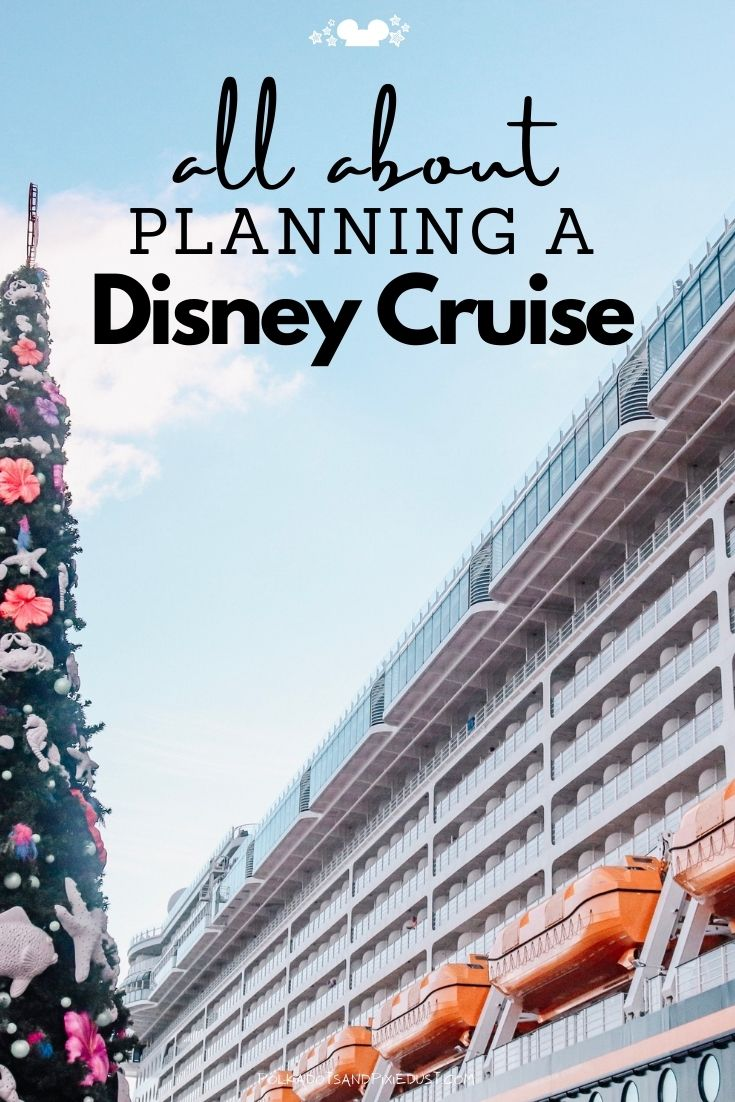 All About Planning a Disney Cruise from the Boarding Process to the Ports of Call to what to do on the boat! Here's all the things to know before you go! #disneycruise #disneyvacation #polkadotpixies