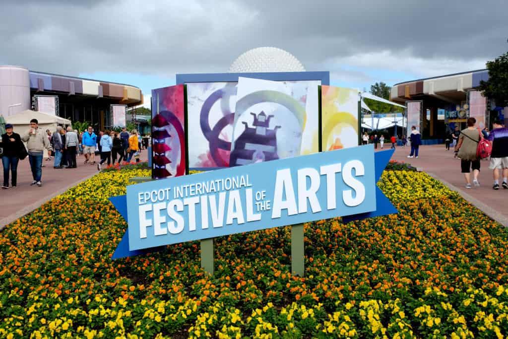 festival of the arts menus 2021