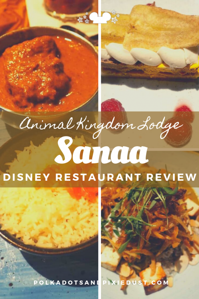 Sanna at Animal Kingdom Lodge combines African dining and Savanna views! Here's everything we love about Sanaa at Animal Kingdom Lodge and why it's become one of our favorite restaurants at Walt Disney World. #polkadotpixies #animalkingdomlodge #sanaa