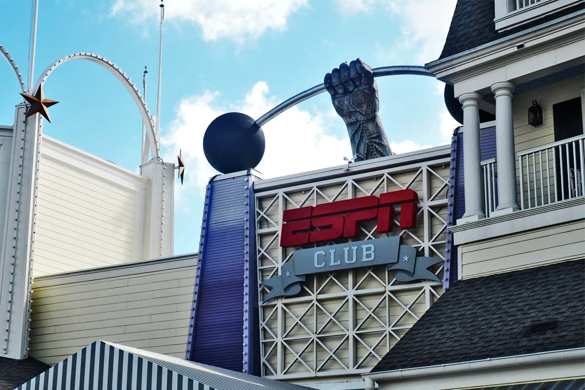 espn club at walt disney world boardwalk