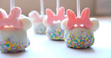 Spring Mickey Cake Pop Treats